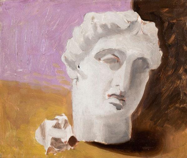 McKNIGHT KAUFFER Edward (1890-1954) - Mushroom and Bust.