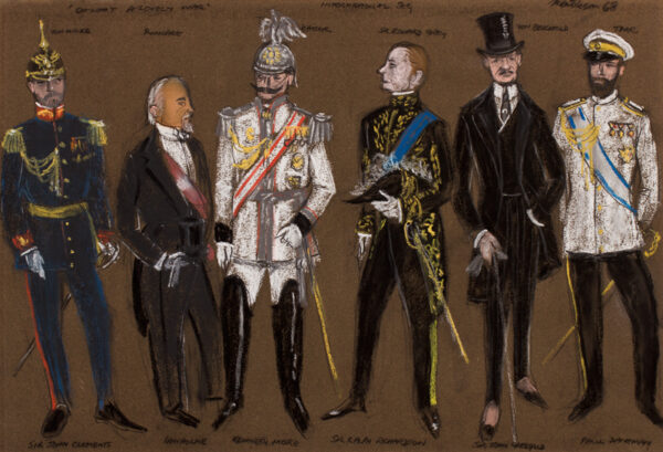 MENDELSON Anthony (1915-1996) - 'Oh! What A Lovely War': costume designs for the 1969 film.