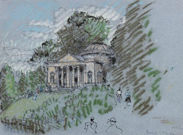 METHUEN Paul (Lord) R.A. (1886-1974) - 'Stourhead'.