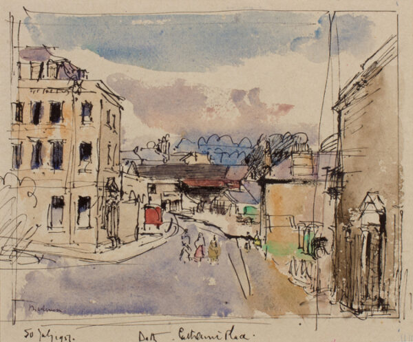 METHUEN Lord (Paul) R.A. (1886-1974) - 'Bath, Catherine Place/ 7.