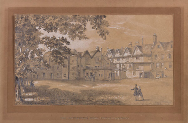 MICHELIS J. (Possibly Frans Michelis) (Mid 19th century) - 'The Tower of London, The Governor's House'.