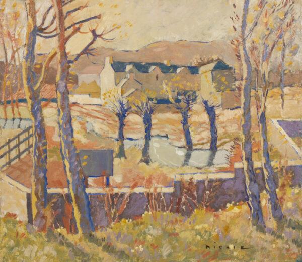 MICHIE James Beattie (1891 - 1960) - Bright, winter's day.