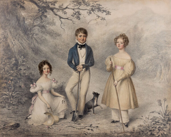 MOORE William (1790-1851) - The gardeners.