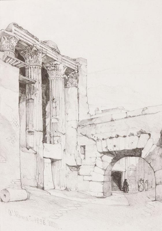 MULLER William James (1812-1845) - 'Roma'.