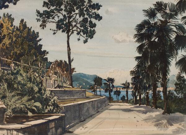 MUNCASTER Claude R.A. (1903-1974) - Italy.