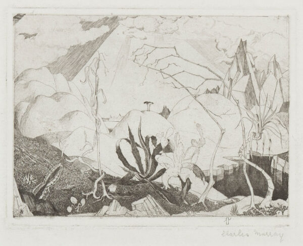 MURRAY Charles (1894-1954) - Exotic landscape.