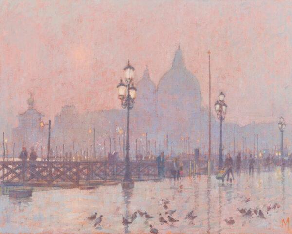 MYNOTT Derek N.E.A.C. (1926-1994) - 'Venice Dusk'.