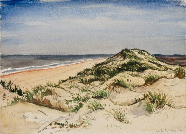 NEVINSON Christopher Richard Wynne A.R.A. (1889-1946) - The Beach.