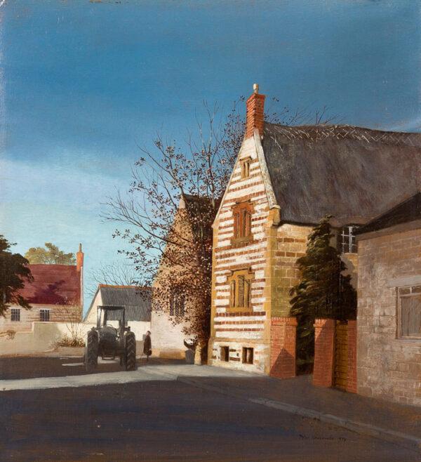 NEWCOMBE Peter (b.1943) - Village street.