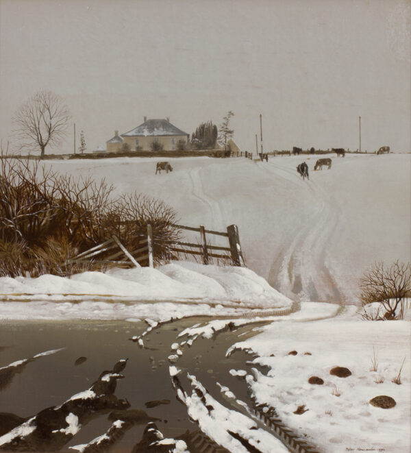 NEWCOMBE Peter (b.1943) - 'Tunnell Hill Farm, Blisworth'.