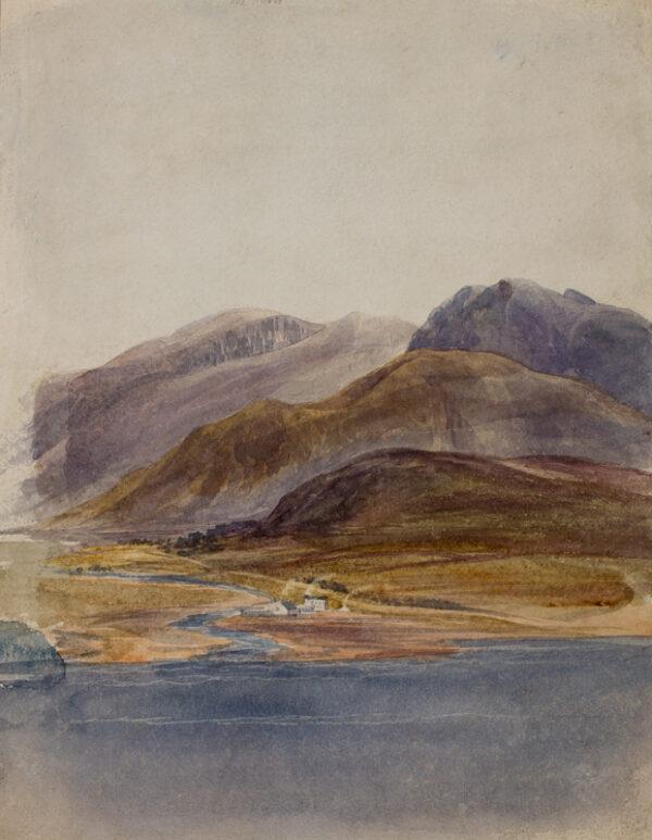 NICHOLL Andrew R.H.A. (1804-1886) - Irish landscape.