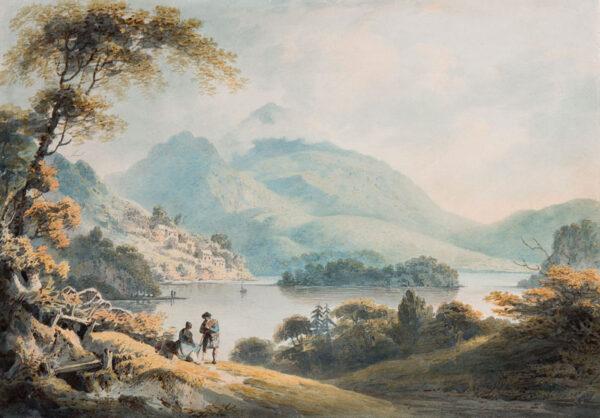 NICHOLSON Francis O.W.S. (1753-1844) - 'Loch Lomond'.