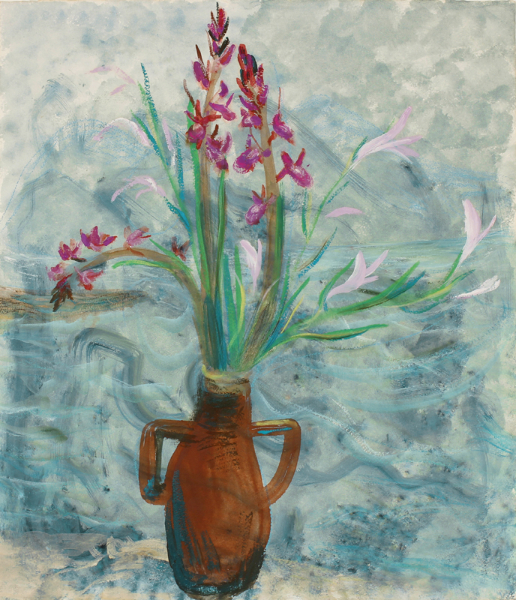 NICHOLSON Winifred (1893-1981) - 'Aesculus orchid'.