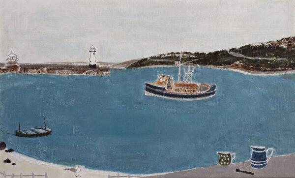 NICHOLSON Rachel (b.1934) - 'Lifeboat No.