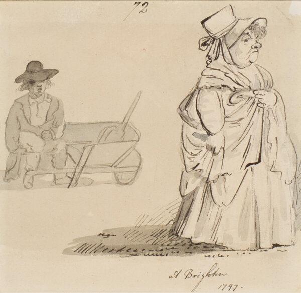 NIXON John (c.1750-1818) - 'At Brighton'.
