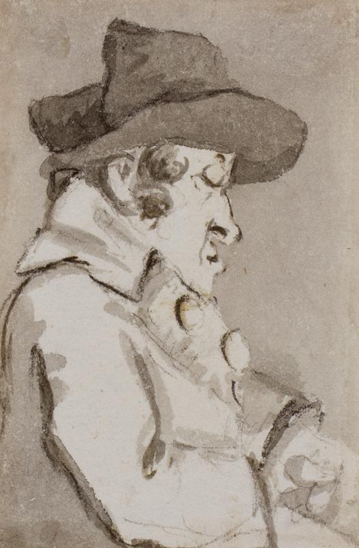 NIXON John (c.1750-1818) - A lantern jaw.