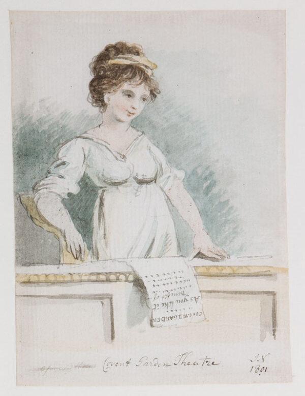 NIXON John (c.1750-1818) - 'Covent Garden Benefit… 'As You Like It''.