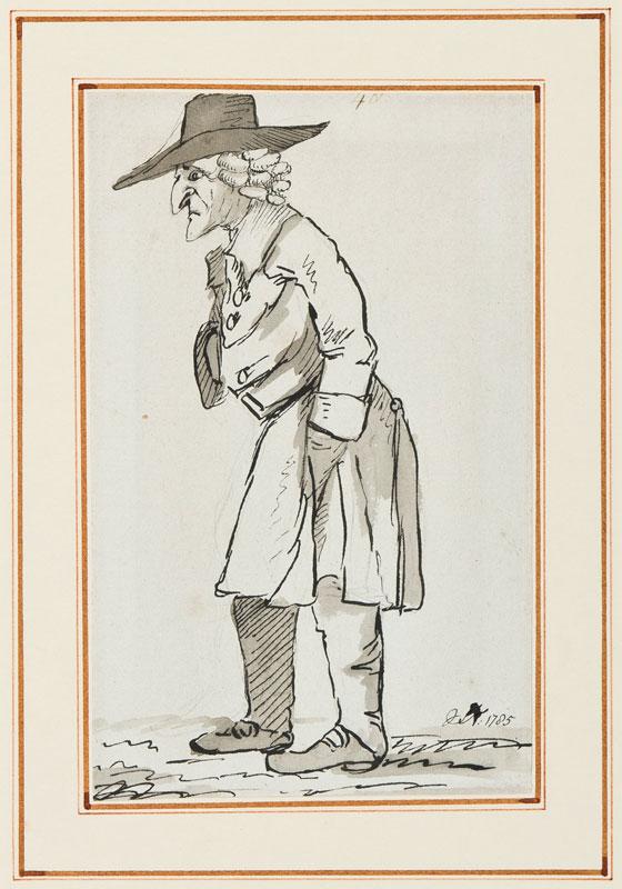 NIXON John (c.1750-1818) - In retirement.