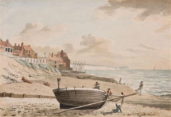 NIXON John (c.1750-1818) - 'Brighton Beach'.