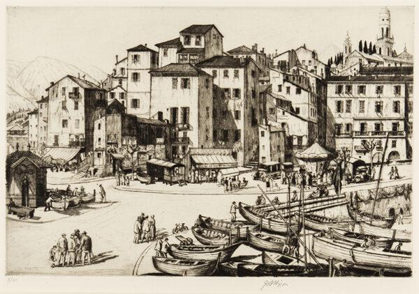 NIXON Job (1891-1938) - 'Mentone'.