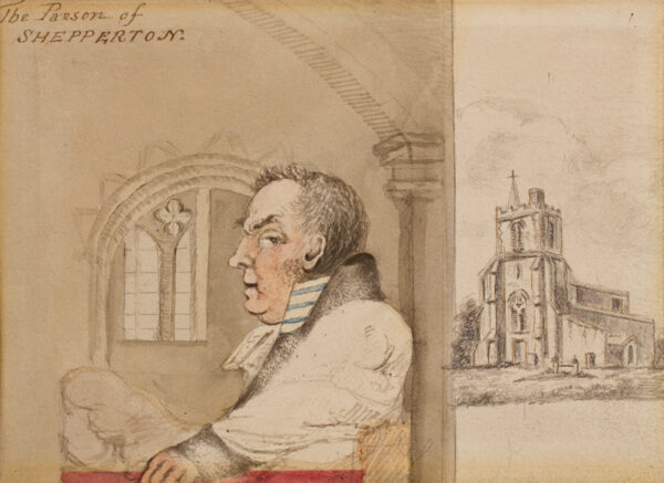 NIXON John (c.1750-1818) - 'The Parson of Shepperton'.