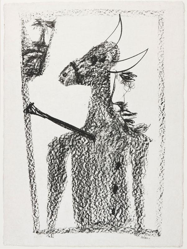NOLAN Sir Sidney O.M. A.C. (1917-1992) - Rinder subject.