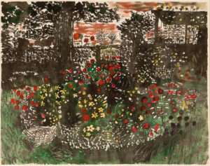 O'CONNOR John (1913-2004) - 'Poppies, Oliver's Farm'.