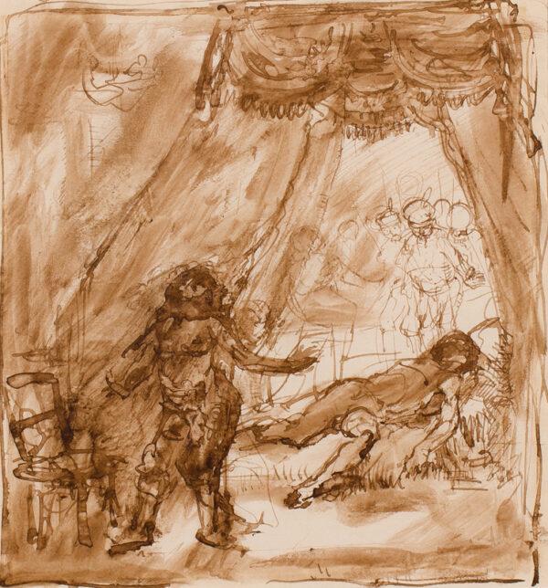 ORPEN Sir William R.A. N.E.A.C. (1878-1931) - Arabian Nights.