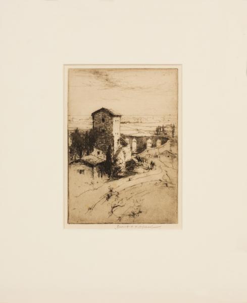 ORPHOOT Burnett (1880-1964) - 'Syracuse'.