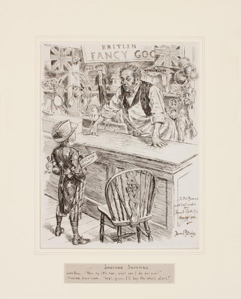 PARTRIDGE Bernard (1861-1945) - American Imperialism.