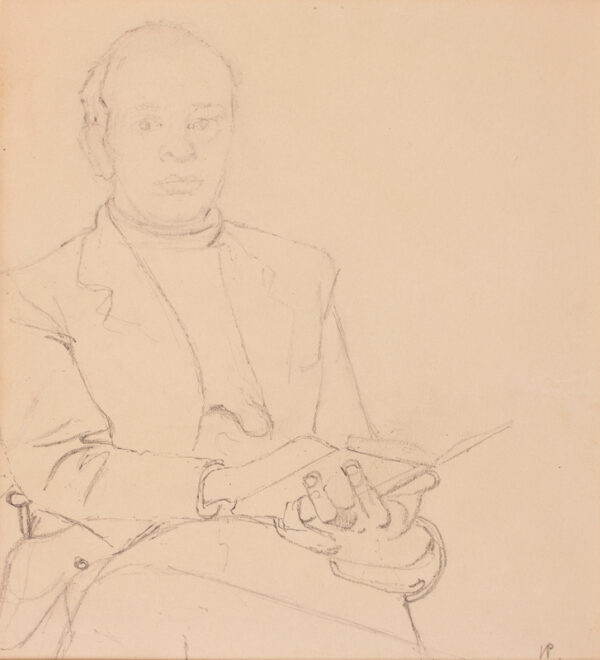 PASMORE Victor C.H. (1908-1998) - The artist being drawn.