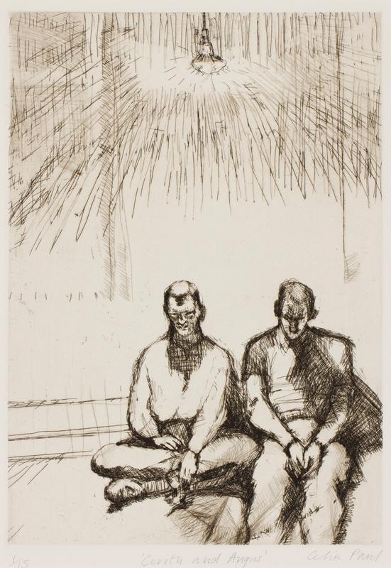 PAUL Celia (b.1959) - 'Cerith and Angus'.