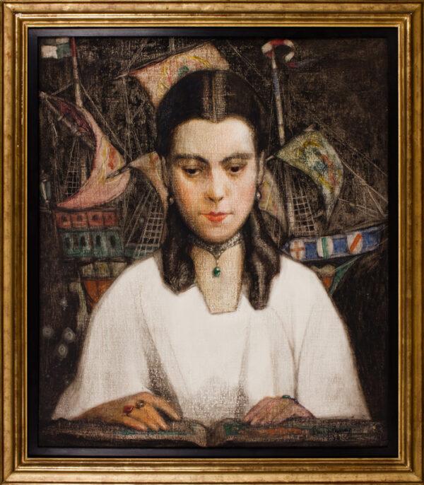 PAUW Rene de (1887-1946) - 'Jeane'.