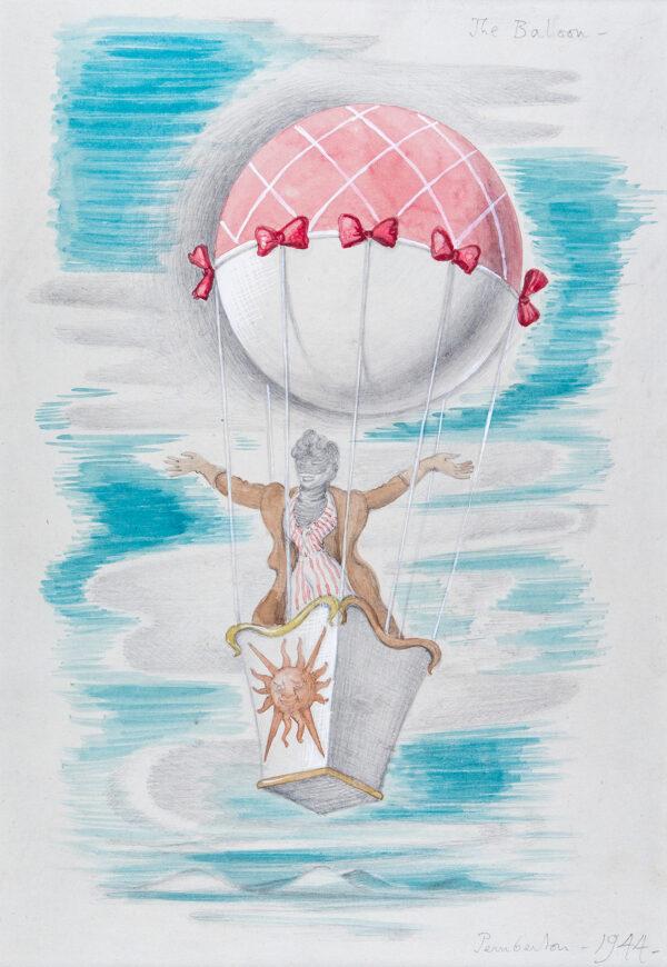 PEMBERTON John (1908-1960) - 'The Balloon'.
