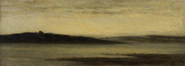 PEPPERCORN Alfred Douglas I.S. (1847-1924) - 'Powderham Castle'.