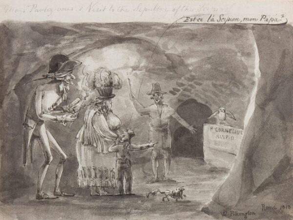 PILKINGTON W. (possibly Major General William 1765-1834) - Rome.