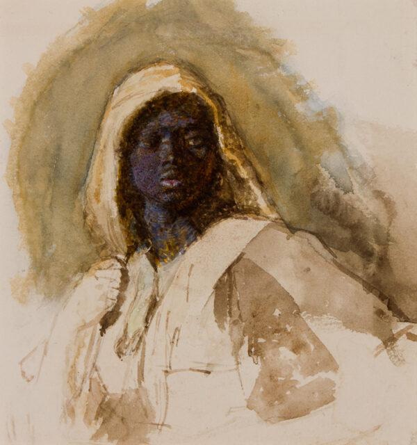 PINWELL George John (1842-1875) - 'Study of head 5'.