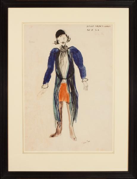 PIPER John C.H. (1903-1992) - 'Old Man / Act II Sc.