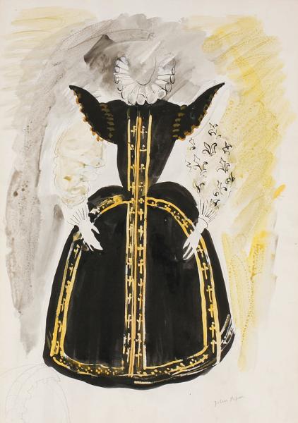 PIPER John C.H. (1903-1992) - 'Lady (Chorus)/Gloriana'.