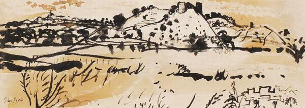 PIPER John C.H. (1903-1992) - Drysllwyn Castle, Carmarthenshire.