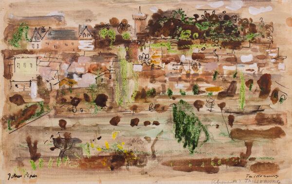 PIPER John C.H. (1903-1992) - 'Taillebourg, Charente'.