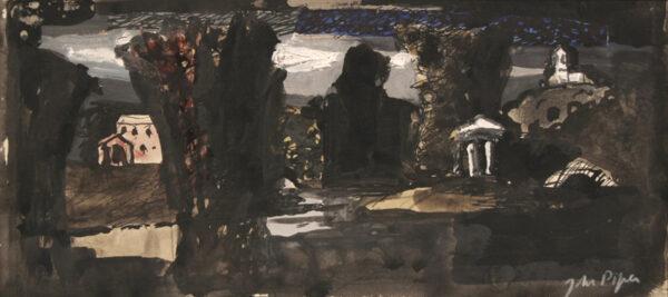 PIPER John C.H. (1903-1992) - 'West Wickham V'.
