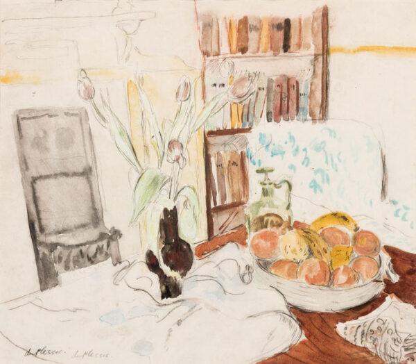 PLESSIS Enslin du (1894-1978) - 'Still-life'.