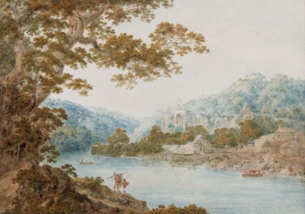 POCOCK Nicholas O.W.S. (1741-1821) - 'Monmouthshire.