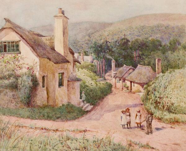 POOLE Samuel (b.1870) - Bratton, Somerset.