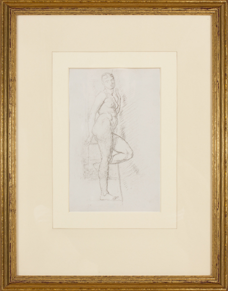 POYNTER Sir Edward P.R.A. (1836-1919) - Study from the Nude.