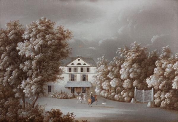 PINGRET Louis Jean (Exh: 1831-1835) - French Villa II.