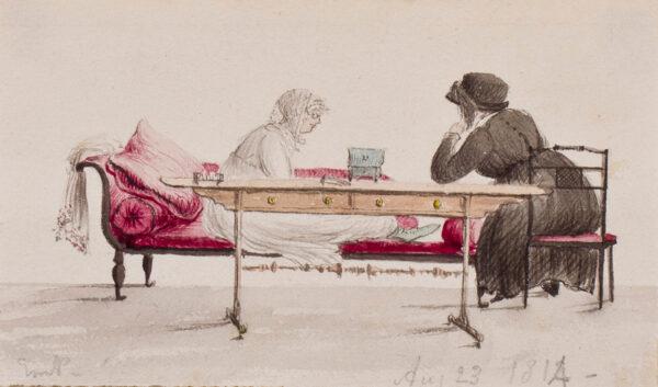 PRINSEP Emily (1798-1860) - The Aunts.