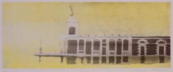 PROCKTOR Patrick R.A. (1936-2003) - Venice: Dogana in the fog.