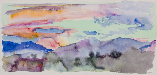 PROCKTOR Patrick R.A. (1936-2003) - Sunset: 'March 4th'.